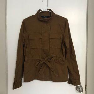 NEW Stoosh Anika Tie Waist Anorak Jacket